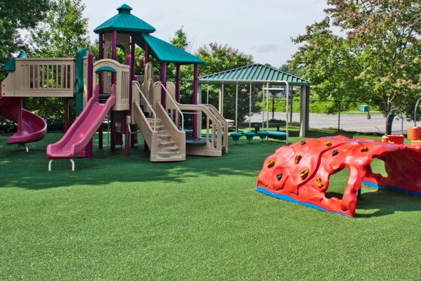 Synthetic Turf International SoftLawn Playground